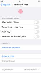 Apple iPhone 8 - iOS 13 - Sécurité - activéz le code PIN de l'appareil - Étape 4