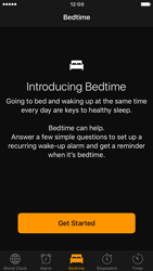 Apple iPhone 7 - iOS features - Bedtime Option - Step 4