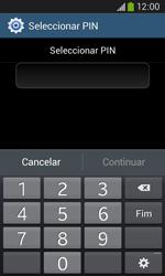 Samsung Galaxy Ace 3 LTE - Segurança - Como ativar o código de bloqueio do ecrã -  8