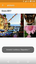 Sony Xperia XZ - Android Nougat - Bluetooth - Transferir archivos a través de Bluetooth - Paso 17