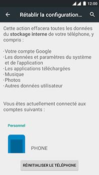 OnePlus 2 - Device maintenance - Retour aux réglages usine - Étape 7