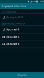 Samsung G850F Galaxy Alpha - Contactgegevens overzetten - delen via Bluetooth - Stap 10