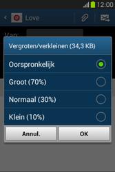 Samsung S6810P Galaxy Fame - E-mail - E-mails verzenden - Stap 16