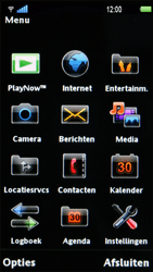 Sony Ericsson U1i Satio - E-mail - Handmatig instellen - Stap 4