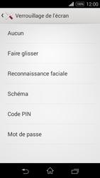 Sony Xpéria E3 - Sécuriser votre mobile - Activer le code de verrouillage - Étape 6