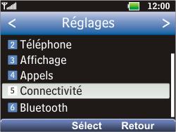 LG C360 Golf - Internet - Configuration manuelle - Étape 4