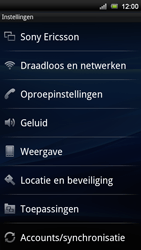 Sony Ericsson ST18i Xperia Ray - MMS - handmatig instellen - Stap 4