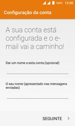 Wiko Sunny DS - Email - Configurar a conta de Email -  20
