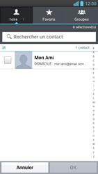 LG Optimus F6 - E-mails - Envoyer un e-mail - Étape 6