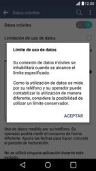 LG K10 4G - Internet - Ver uso de datos - Paso 9