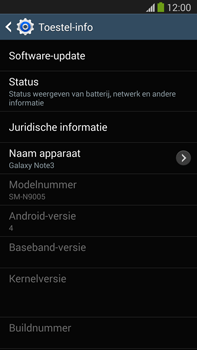 Samsung N9005 Galaxy Note III LTE - Software updaten - Update installeren - Stap 6