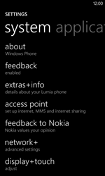 Nokia Lumia 720 - Internet - Manual configuration - Step 8