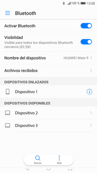 Huawei Mate 9 - Bluetooth - Conectar dispositivos a través de Bluetooth - Paso 7
