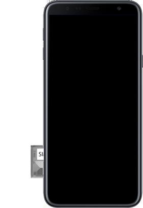 Samsung J4+ - Primeiros passos - Como inserir o chip da Nextel no seu celular - Etapa 9