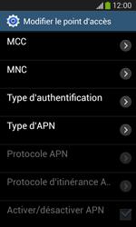 Samsung Galaxy Core Plus - Internet - Configuration manuelle - Étape 13