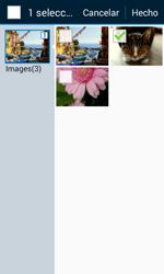 Samsung Galaxy Core Prime - Mensajería - Escribir y enviar un mensaje multimedia - Paso 19
