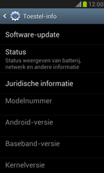 Samsung I8190 Galaxy S III Mini - Software update - update installeren zonder PC - Stap 4
