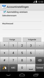 Acer Liquid E600 - E-mail - Handmatig instellen - Stap 14