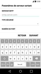 LG X Screen - E-mail - Configuration manuelle - Étape 12