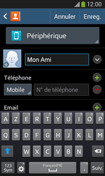Samsung Galaxy Ace 3 - Contact, Appels, SMS/MMS - Ajouter un contact - Étape 8