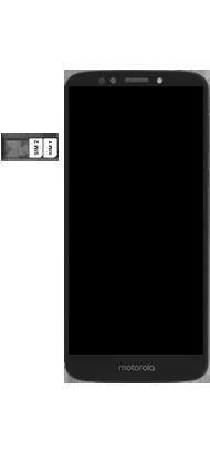 Motorola Moto E5 - Primeiros passos - Como inserir o chip da Nextel no seu celular - Etapa 5