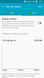 Samsung Galaxy J3 Duos - Rede móvel - Como ativar e desativar uma rede de dados - Etapa 7