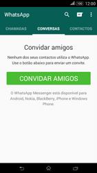Sony Xperia E4 - Aplicações - Como configurar o WhatsApp -  12