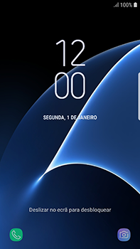 Samsung Galaxy S7 Edge - Android Oreo - Primeiros passos - Como ligar o telemóvel pela primeira vez -  4