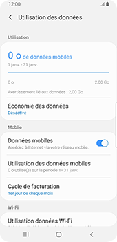 Samsung Galaxy S9 Android Pie - Internet - configuration manuelle - Étape 7