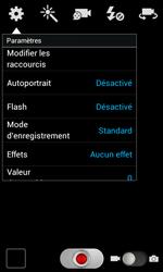 Samsung Galaxy S2 - Photos, vidéos, musique - Créer une vidéo - Étape 6