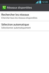 LG E610 Optimus L5 - Réseau - utilisation à l'étranger - Étape 10