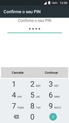 Alcatel Pop 3 - Segurança - Como ativar o código de bloqueio do ecrã -  7