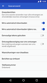 Android One GM5Plus DS - MMS - probleem met ontvangen - Stap 8