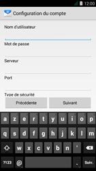 Acer Liquid Z410 - E-mail - Configuration manuelle - Étape 9