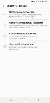 Samsung galaxy-a6-plus-sm-a605fn-ds - Contacten en data - Contacten kopiëren van toestel naar SIM - Stap 7