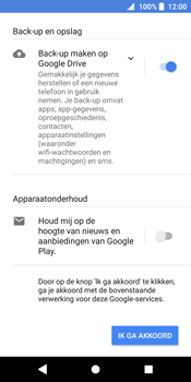 Sony Xperia XZ2 (H8216) - Applicaties - Account aanmaken - Stap 17