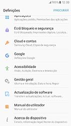 Samsung Galaxy A3 (2017) - Segurança - Como ativar o código de bloqueio do ecrã -  4