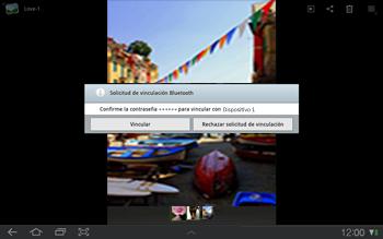 Samsung P7500 Galaxy Tab 10-1 - Bluetooth - Transferir archivos a través de Bluetooth - Paso 10