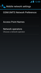 Acer Liquid Z5 - Network - Usage across the border - Step 6
