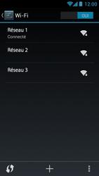 Acer Liquid Z5 - WiFi et Bluetooth - Configuration manuelle - Étape 8