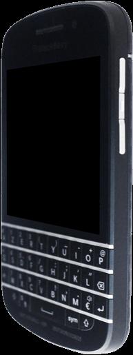BlackBerry Q10 - Premiers pas - Découvrir les touches principales - Étape 2