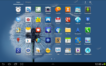 Samsung N8000 Galaxy Note 10-1 - Internet - Enable or disable - Step 3