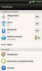 HTC C525u One SV - Netwerk - Handmatig netwerk selecteren - Stap 7