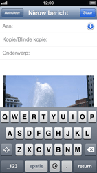 Apple iPhone 5 (iOS 6) - e-mail - hoe te versturen - stap 6