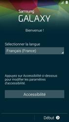 Samsung Galaxy S5 - Premiers pas - Créer un compte - Étape 2