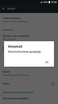 HTC U11 (2PZC100) - Voicemail - Handmatig instellen - Stap 8