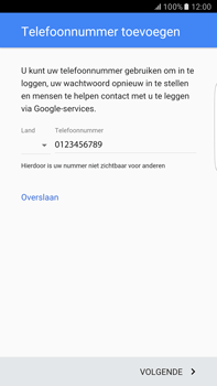Samsung Samsung G928 Galaxy S6 Edge + (Android M) - Applicaties - Account instellen - Stap 14