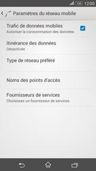 Sony Xperia E4g - Internet et connexion - Désactiver la connexion Internet - Étape 6