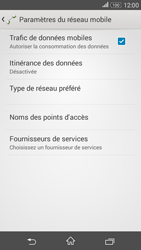 Sony E2003 Xperia E4G - Internet - configuration manuelle - Étape 7