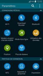 Samsung Galaxy Alpha - Internet et connexion - Partager votre connexion en Wi-Fi - Étape 4